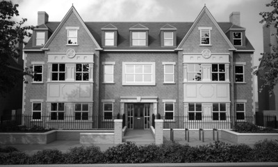 Student accommodation at Turing House in Cambridge