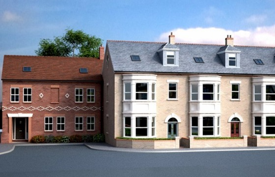 New family homes in Humberstone Road, Cambridge
