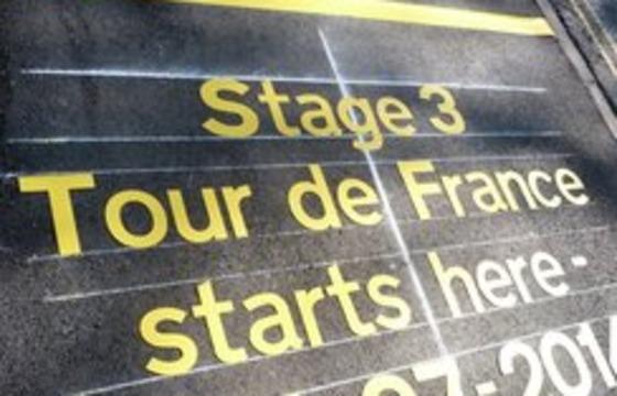 Tour de France 2014 - the start line